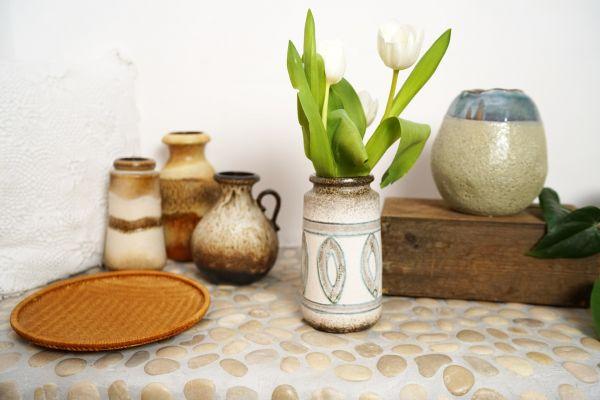 Vase mit Ethno Muster