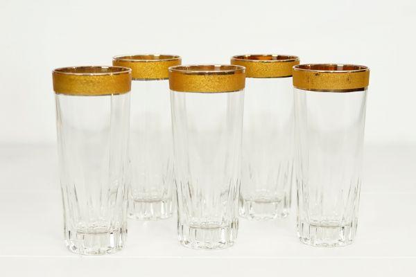 Goldrand Gläser