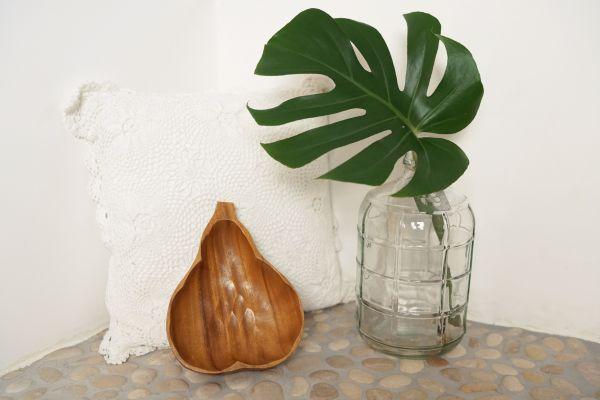 Holzschale Ananas aus Holz