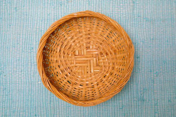 Wandkorb oder Korb für Aufbewahrung als Deko für dein Zuhause im Vintage Boho Stil