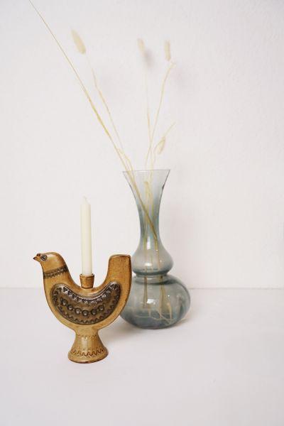 Kerzenleuchter im Vogel Design 60er Jahre Mid-Century Modern als Deko