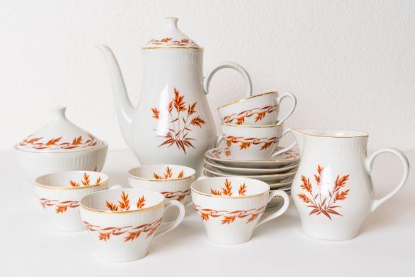 Teeservice Blätter für deinen schön gedeckten Tisch