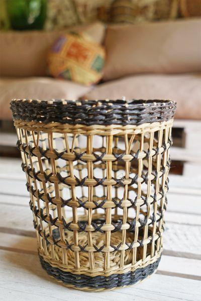 Seegraskorb als Deko für dein gemütliches Zuhause im Boho Stil