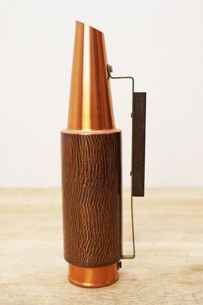 Vintage Kupfer Vase im mid-century Design der 50er Jahre als Deko
