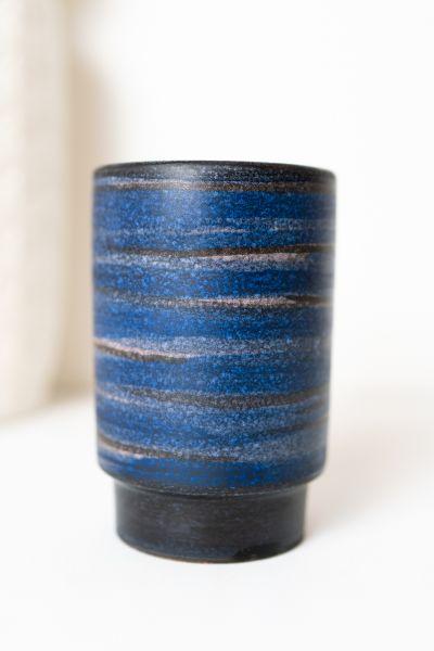 Vase von Wächtersbach der Serie Tahiti als Deko im Vintage Stil