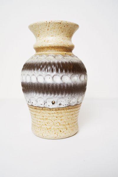 Vintage Bay Vase als Deko für dein Zuhause im Boho Vintage Stil Mid-Century Modern