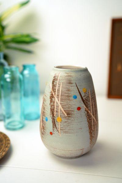 Vintage Vase mit tollem Design als Deko für dein gemütliches Zuhause im Boho Stil