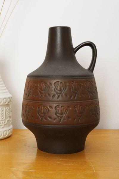 Vintage Vase mit Henkel von Marzi & Remy als Deko im Vintage Stil