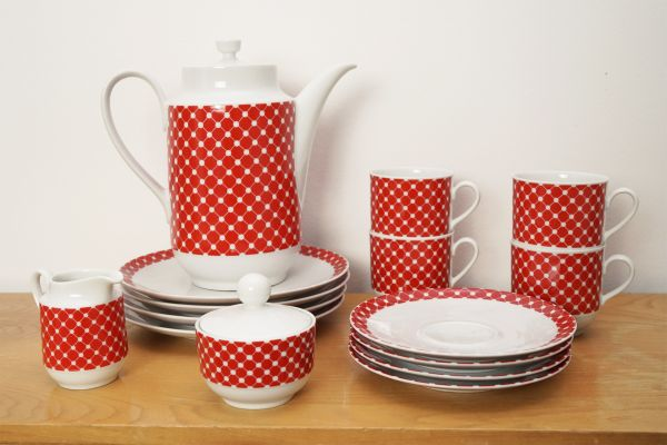 Tolles Vintage Service von Winterling als Blickfang auf deinem schön gedeckten Tisch im Vintage Stil