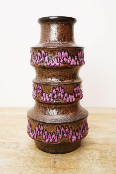 Scheurich Keramik Vase als Design & Deko Objekt für dein Zuhause im Vintage Stil