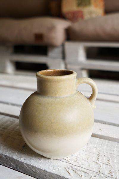 Vintage Vase in sandigen Tönen als Deko für dein schönes Zuhause