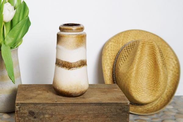 Scheurich Vase Vintage in erdigen brauntönen