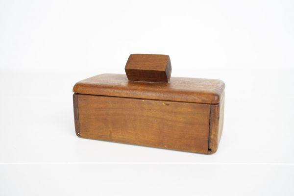Holzdose Vintage Quader