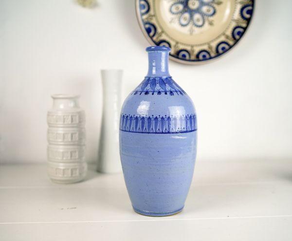 Vintage Vase im Boho Look für das Wohnen im Sommer und als Deko für dein gemütliches Wohnzimmer