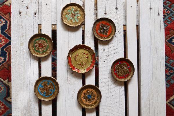 Untersetzer Set im orientalischen Design als Deko für deinen schön gedeckten Tisch