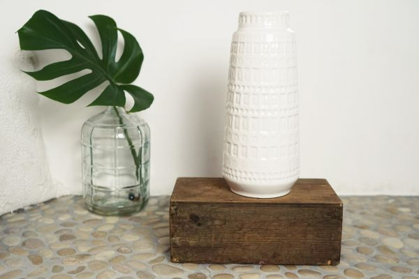Scheurich Vintage Vase mit Inka Design als Deko für dein gemütliches Zuhause