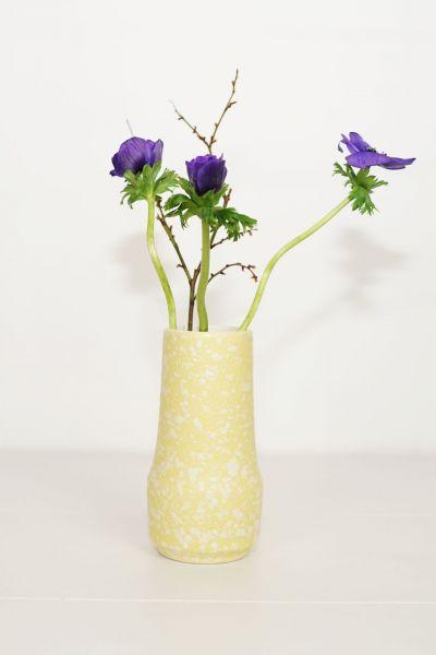 Fat Lava Vase gelb