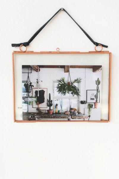 Bilderrahmen aus Metall von Madam Stoltz als Deko für dein zuhause im Boho Stil