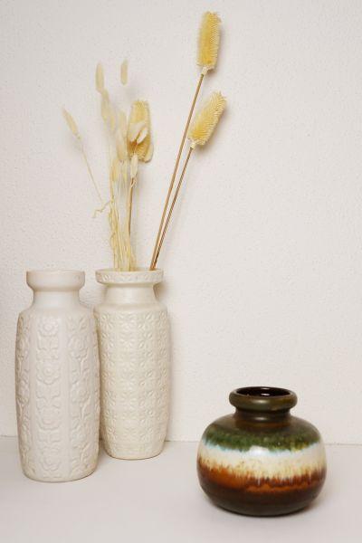 Vintage Vase Scheurich 284-15 aus den 70er Jahren als Deko für dein Zuhause im Vintage Boho Stil