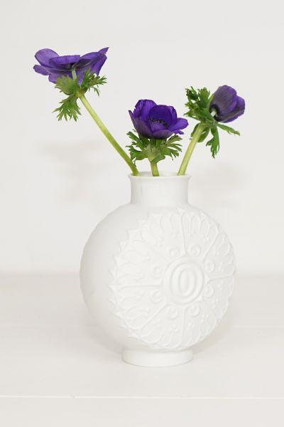 Kaiser Vase Weiß Bisquit Porzellan