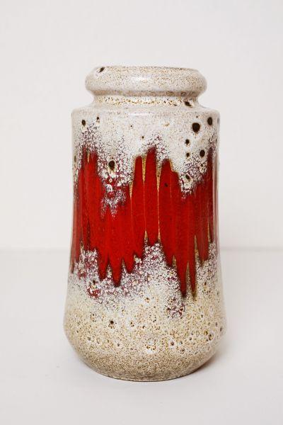 Vintage Fat Lava Vase Scheurich als Deko für dein Zuhause im Vintage Stil der 70er Jahre