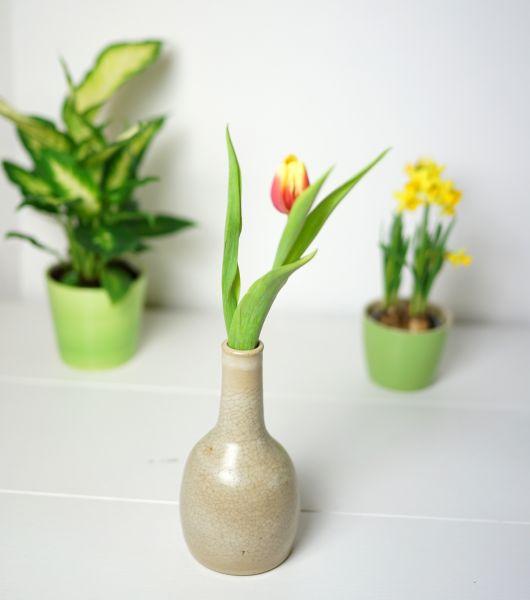 Schlichte Vintage Vase