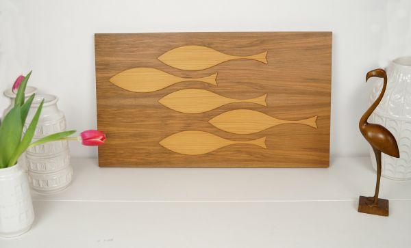 Wandbild Fische 70er