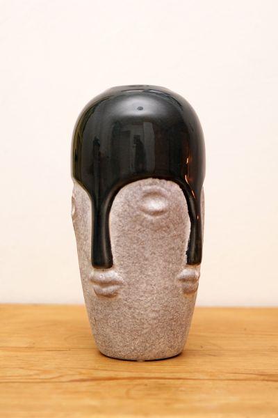 Kopf Vase Keramik